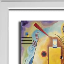 Quadro con cornice Kandinsky 45.5x55.5 cm