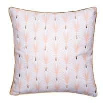Cuscino Clarisse rosa 45x45 cm