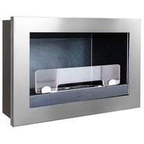 Caminetto a bioetanolo per parete Treviso 1.9 L grigio / argento