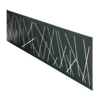Inserto Premium XL Design antracite 148.3 x 37 cm