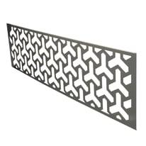 Inserto Premium XL Triptyc grigio 148.3 x 37 cm