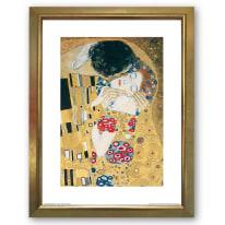 Stampa incorniciata The Kiss 35x45 cm