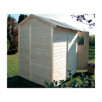 Casetta da giardino in legno Tata 2.55 m² spessore 14 mm