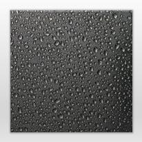 Lavagna Raindrops nero 28x28 cm