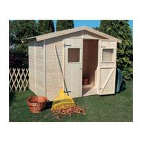 Casetta da giardino in legno Gyor 4.28 m² spessore 14 mm