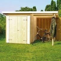 Casetta da giardino in legno Wels 2.992 m² spessore 14 mm