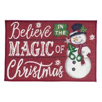 Tappeto antiscivolo Master Natale multicolore 40x65 cm