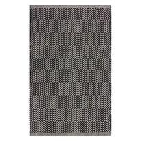 Tappeto Cucina b&w bianco e nero 150x50 cm