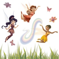 Sticker Fairies 31x31 cm