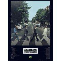 Stampa incorniciata Beatles 30x40 cm
