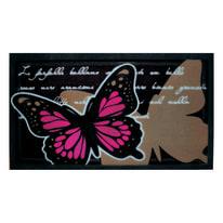 Zerbino in caucciù multicolore 40x70 cm