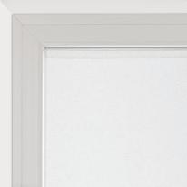 Tendina vetro Dalia bianco tunnel 90x160 cm