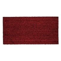Zerbino in cocco rosso 60x100 cm