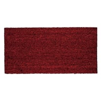 Zerbino in cocco rosso 100x120 cm