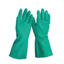 Guanto per protezione chimica in pelle e cuoio GEOLIA 10 / XL