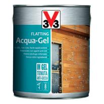 Flatting liquido V33 Acqua-Gel 2.5 L noce medio lucido