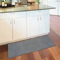 Tappeto Cucina antiscivolo Alice grigio 110x50 cm