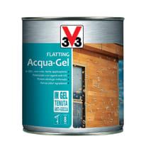 Flatting liquido V33 Acqua-Gel 0.75 L noce medio lucido