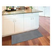 Tappeto Cucina antiscivolo Alice grigio 130x57 cm