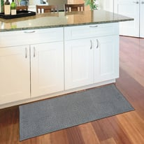 Tappeto Cucina antiscivolo Alice grigio 180x57 cm