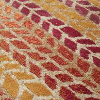 Tappeto Four seasons arancione 220x160 cm