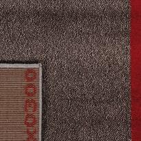 Tappeto Casa grey riquadri multicolor 170x120 cm