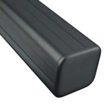 Palo in alluminio multifunzione Kyoto L 8 x P 8 x Ø 80 mm x H 200 cm
