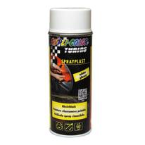 Smalto spray base solvente DUPLI COLOR Sprayplast 0.0075 L bianco lucido