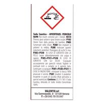 Soda caustica 0.750 Kg