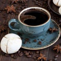 Quadro in vetro Caffè Lungo 30x30 cm