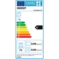 Forno Elettrico multifunzione ventilato 11 funzioni INDESIT IFW 4844 H BL