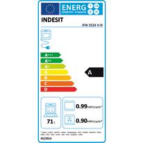 Forno Elettrico multifunzione ventilato 6 funzioni INDESIT IFW 3534 H IX