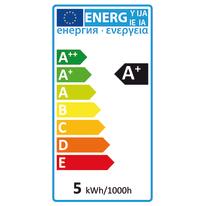 Lampadina LED E14 lineare bianco 5W = 450LM (equiv 40W) 360°