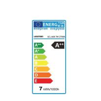 Lampadina Filamento LED E27 standard bianco caldo 6W = 806LM (equiv 60W) 360° LEXMAN