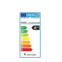 Lampadina Filamento LED E27 standard bianco caldo 4W = 470LM (equiv 40W) 360° LEXMAN