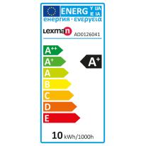 Lampadina LED E27 standard dal bianco caldo al bianco freddo, cambiando i colori 9.5W = 806LM (equiv 60W) 130° LEXMAN