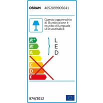 Proiettore LED integrato Garden in plastica, trasparente, 4.5W 225LM IP66 OSRAM