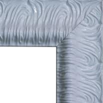 Specchio Matteo rettangolare bianco 40x125 cm