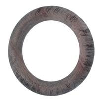 Anello Ø28mm in legno grigio, multicolor opaco INSPIRE, 10 pezzi
