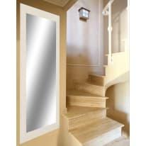Specchio a parete rettangolare 2080 bianco 55x140 cm