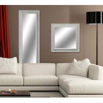 Specchio a parete rettangolare Venere bianco 57x142 cm