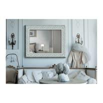 Specchio Asia rettangolare bianco 80x120 cm