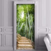 Sticker Bamboo forest 9x96 cm