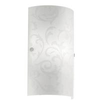 Applique Amadora bianco, in metallo, 18x7.5 cm, E14 MAX60W IP20 EGLO
