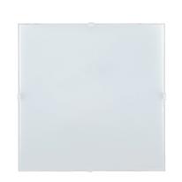 Applique Brixen bianco, in vetro, 25.8x25.8 cm, E27 MAX40W IP20