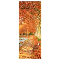 Sticker Orange trail 9x96 cm