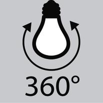 Lampadina Filamento LED E27 standard bianco caldo 8W = 1055LM (equiv 75W) 360° LEXMAN
