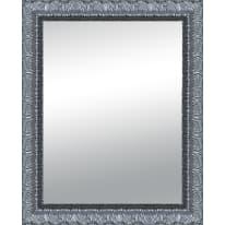 Specchio Matteo rettangolare argento 80x120 cm