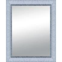 Specchio Matteo rettangolare bianco 80x120 cm