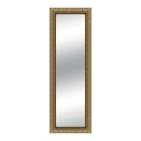 Specchio a parete rettangolare Matteo oro 68x168 cm